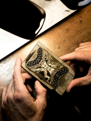 Each card is given utmost care and attention, ranging from a month or two in completion.
