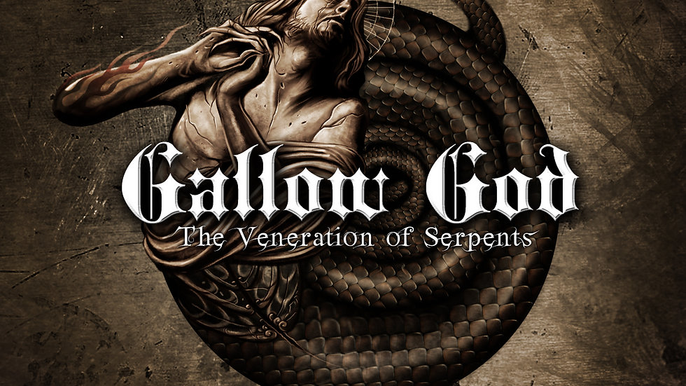 Gallow God 'The Veneration of Serpents (CD)
