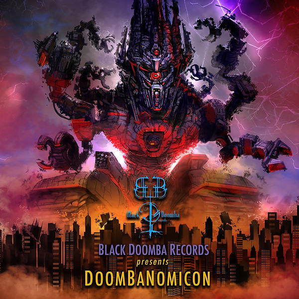 Doombanomicon finished front cover 300dp
