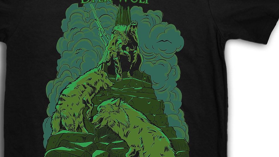 """Tommy Stewart's Dyerwulf """"Against the King"""" T-shirt"""
