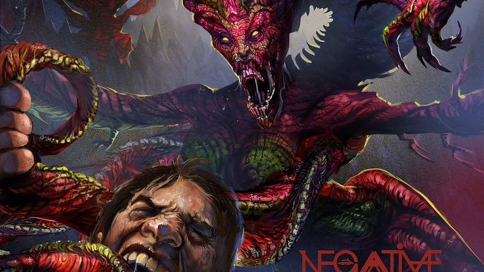 Negative Wall 'Hybrid Genus Serpentis Kp22' (CD -Single)