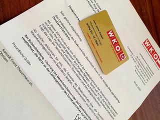 Jürgen Kitz und coin.zone GmbH erhalten DV-Gold-Card der WKO-Kärnten