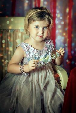 Настюша. Детский портрет