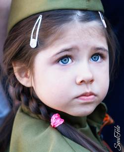 Портрет неизвестной девочки