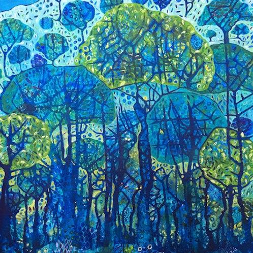 Whispering Trees Original Painting