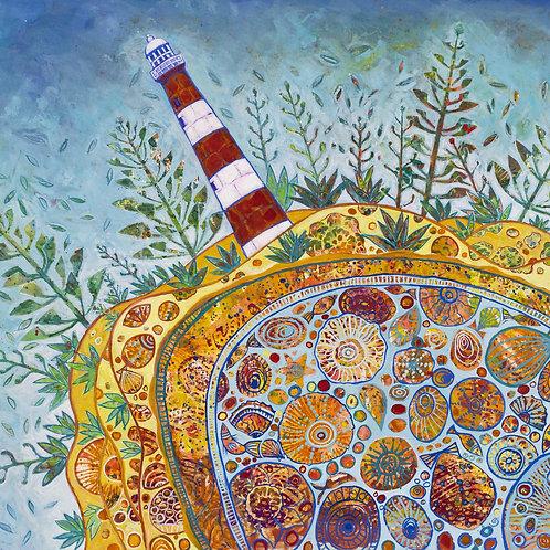 Point Moore Lighthouse Rectangle fine art print