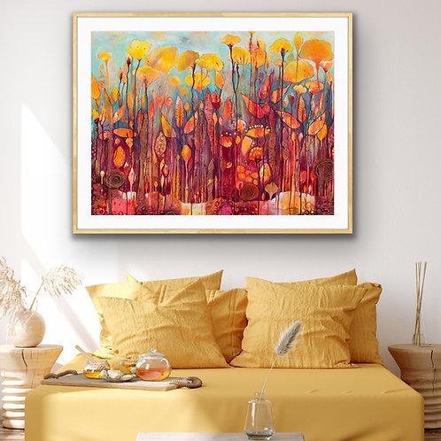 Wildflowers #1 Rectangle Fine Art Print
