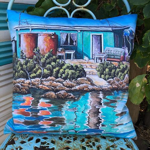 Basile Island - Abrolhos Islands - cushion cover