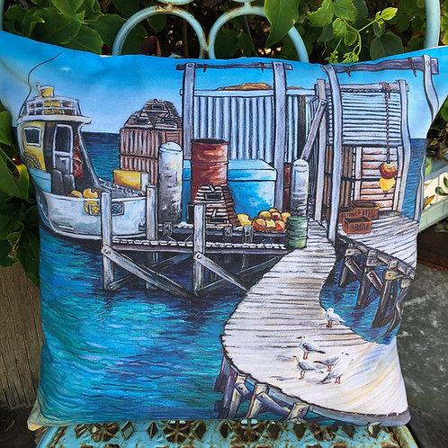 North Island - Abrolhos Islands - cushion cover