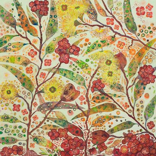Illyarrie Gums Fine Art Print