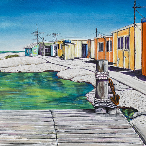 Abrohos islands - Basile Island - Fine art print