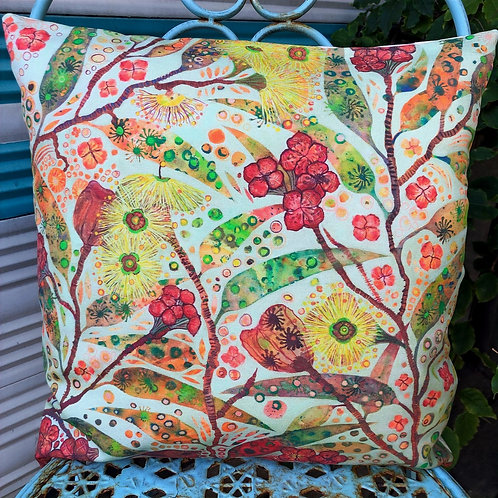 Illyarrie Gums cushion cover