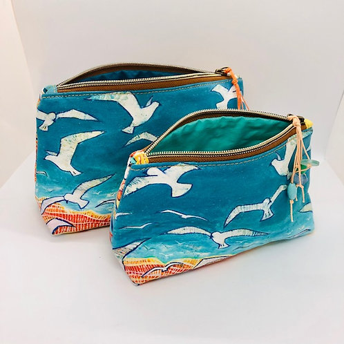 Soaring Seagulls Pouch