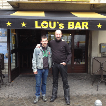 Lou's Bar, Liege, 2018 w/ Stinky Lou