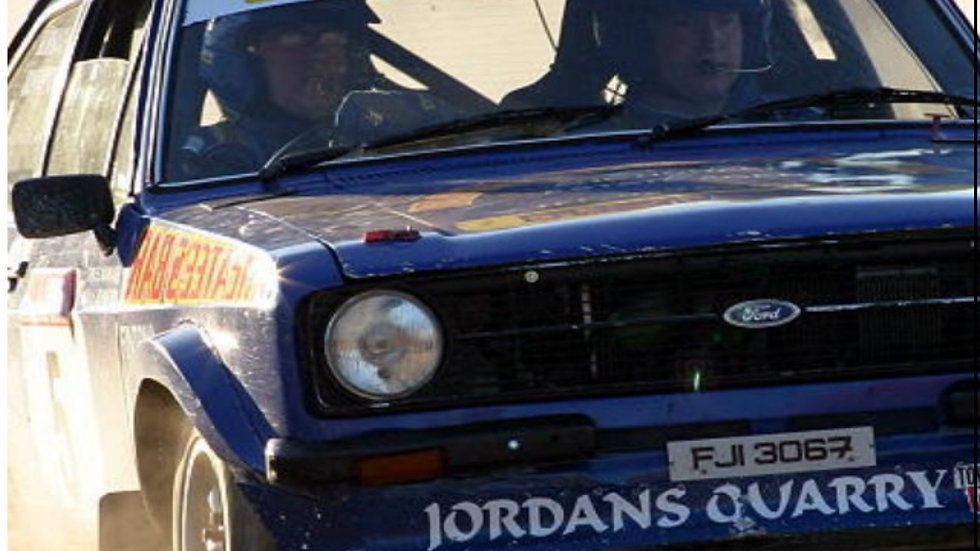 2003 Enniskillen Clubman Stages Rally - Competitor Video now on DVD