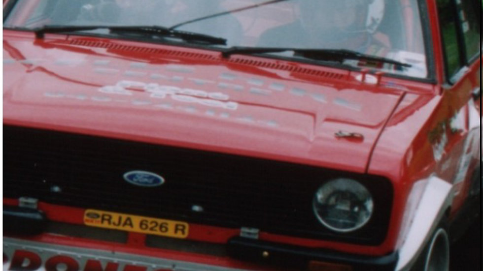 2003 Castle Hellfire Rally - Competitor Video now on DVD