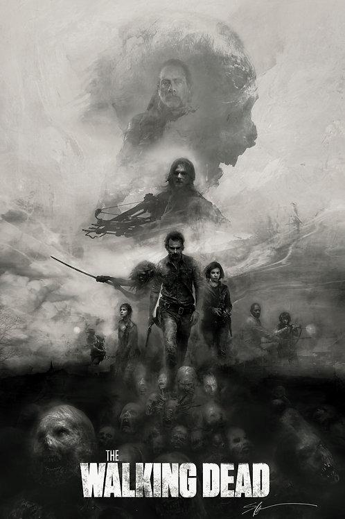 CHROMED EDITION - The Walking Dead 24 x 36