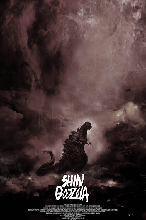Chromed Edition - Shin Godzilla - 24 x 36