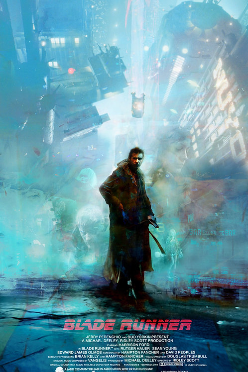 Blade Runner (Version 2) - 18 x 24