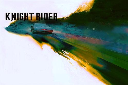 Epic Version - Knight Rider - 36 x 24