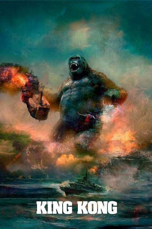 King Kong (Variant) 24 x 36