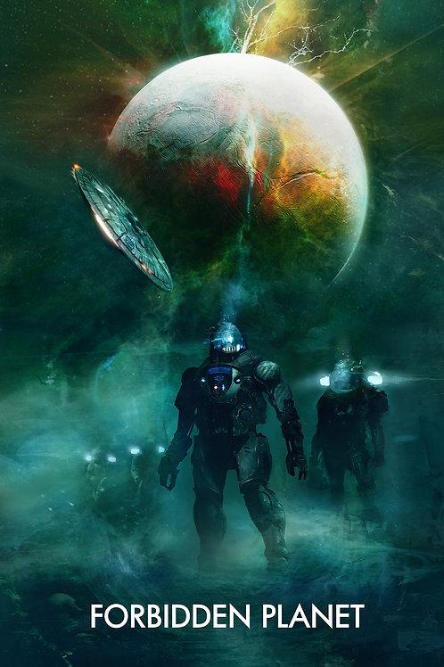 Forbidden Planet 24 x 36