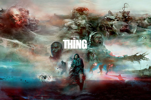 The Thing (Expanded) 36 x 24