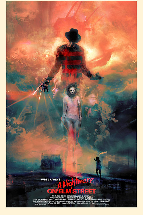 A Nightmare on Elm Street - EPIC - 18 x 24