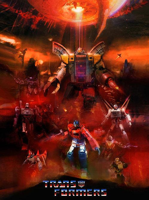 Transformers (Version 2) - 18 x 24