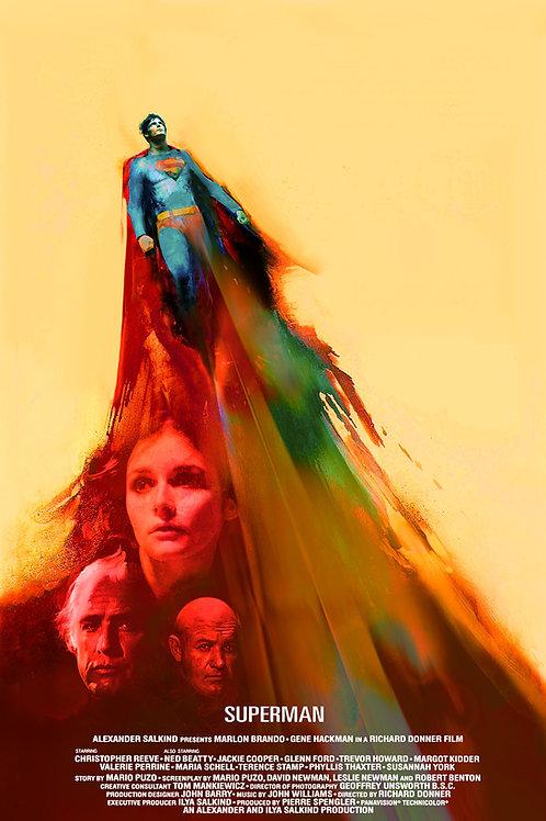 Superman - 18 x 24