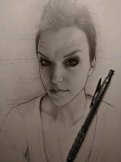 Lzzy Hale - Quick Sketch
