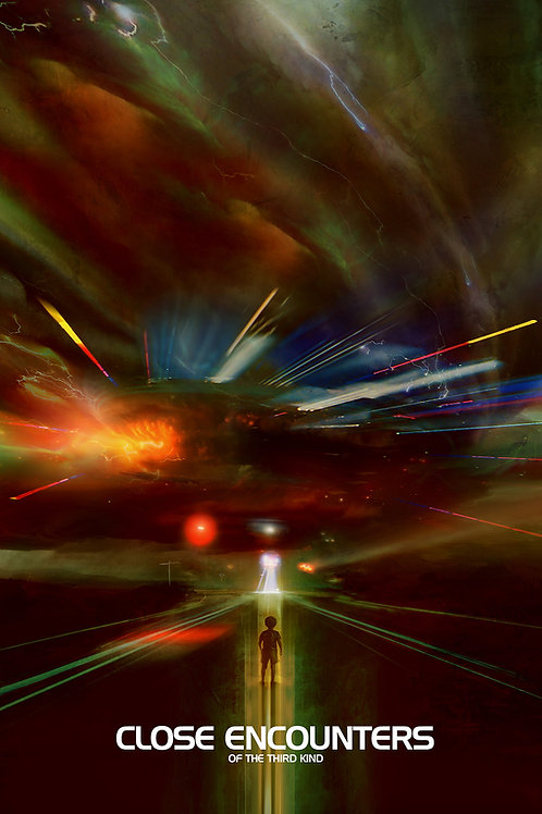 Close Encounters Variant 24 x 36