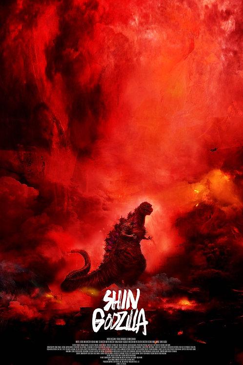 Shin Godzilla - 24 x 36