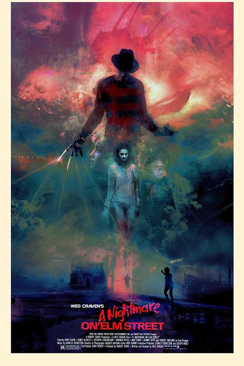 A Nightmare on Elm Street - 18 x 24