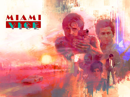 Epic Version - Miami Vice - 36 x 24