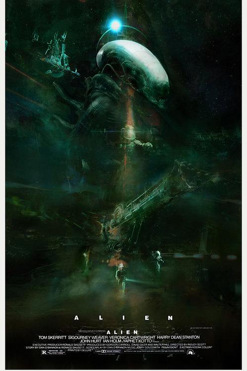 Alien - Text Poster - 24 x 36