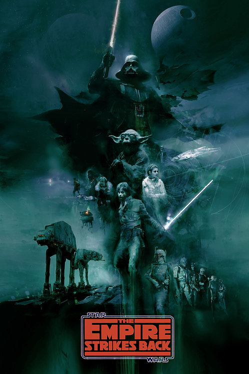 The Empire Strikes Back (Variant) 18 x 24