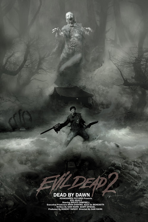 Chromed Edition - Evil Dead 2 - 24 x 36