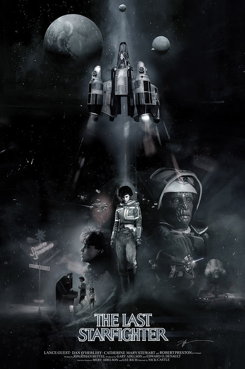 Chromed Edition - The Last Starfighter - 24 x 36
