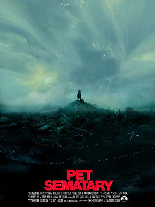 Pet Cemetery - 18 x 24