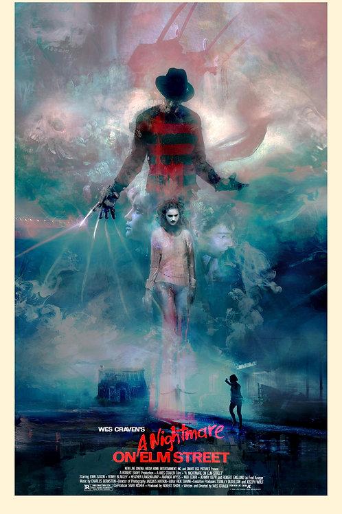 A Nightmare on Elm Street - 24 x 36