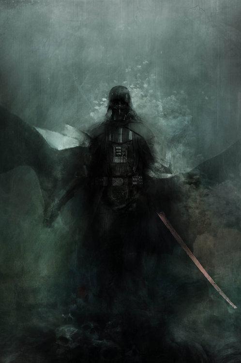 Chromed Edition - Darth Vader - 24 x 36