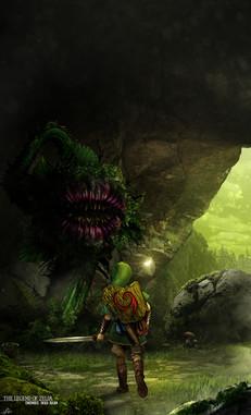 The Legend of Zelda Enemies - Deku Baba