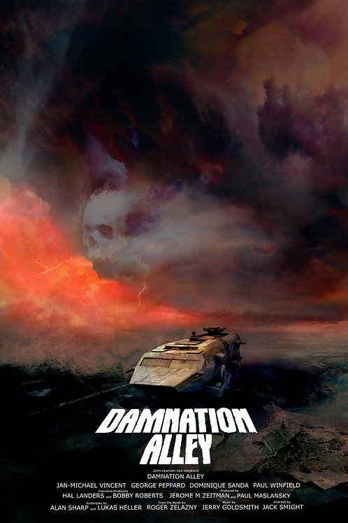 Damnation Alley - 18 x 24