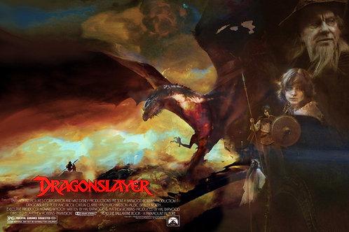 Dragonslayer - 24 x 18