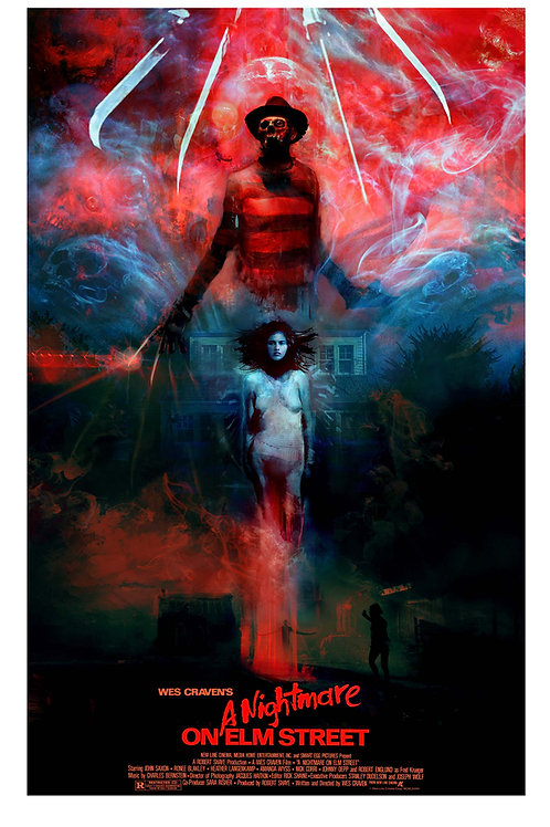 LG - A Nightmare on Elm Street (Version 2) - 18 x 24