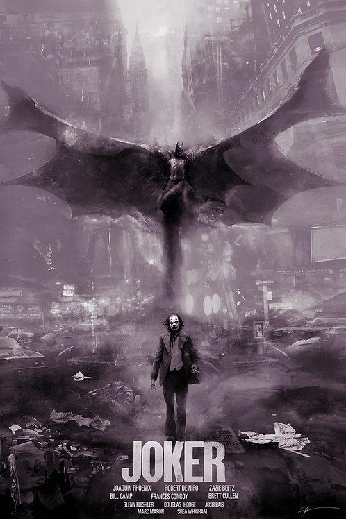 Joker (Chromed Edition) - 24 x 36