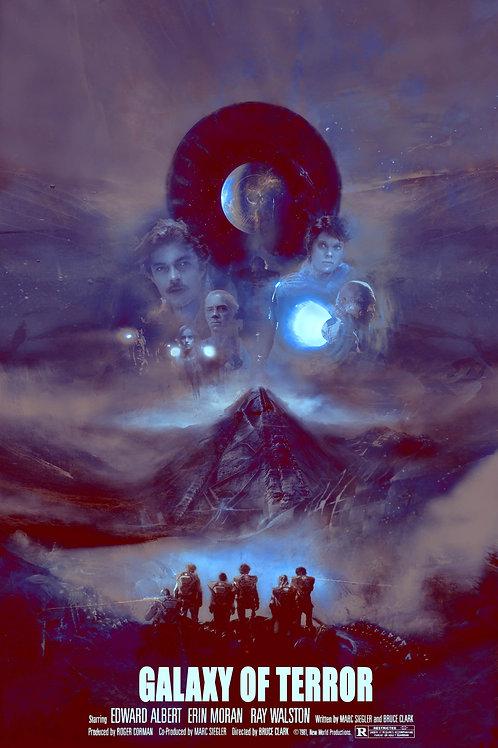 Galaxy of Terror - Variant - 18 x 24