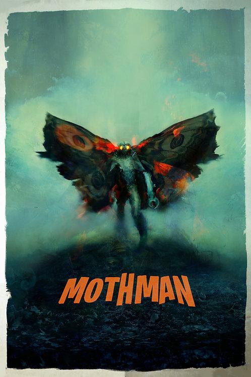 Mothman - 24 x 36