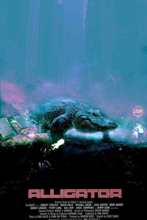 LG - Alligator - 18 x 24